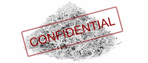 confidential document destruction
